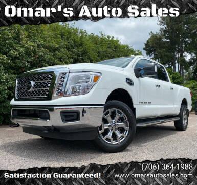 2018 Nissan Titan XD for sale at Omar's Auto Sales in Martinez GA