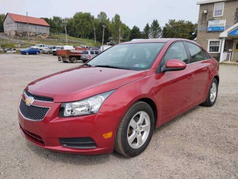 2014 Chevrolet Cruze for sale at G & H Automotive in Mount Pleasant PA