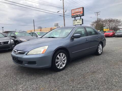 2007 Honda Accord for sale at Autohaus of Greensboro in Greensboro NC