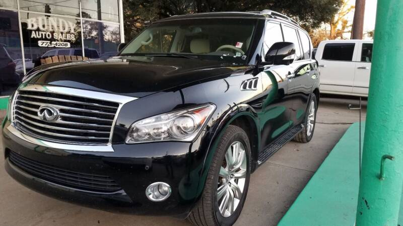2013 Infiniti QX56 for sale at Bundy Auto Sales in Sumter SC