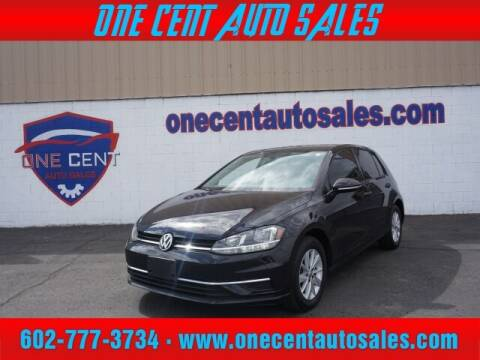 2018 Volkswagen Golf for sale at One Cent Auto Sales in Glendale AZ