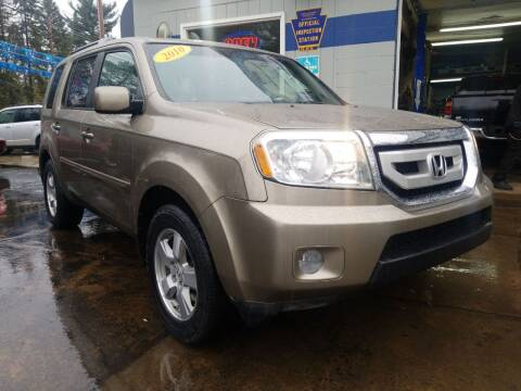 2010 Honda Pilot for sale at Fleetwing Auto Sales in Erie PA