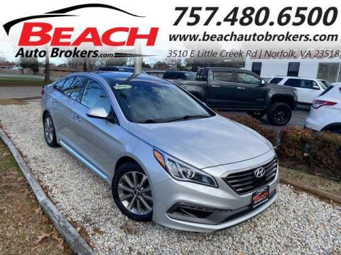 2016 Hyundai Sonata for sale at Beach Auto Brokers in Norfolk VA
