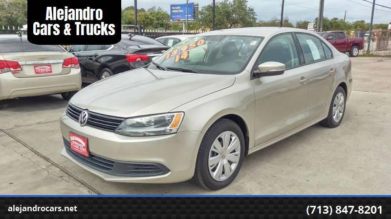 2014 Volkswagen Jetta for sale at Alejandro Cars & Trucks Inc in Houston TX