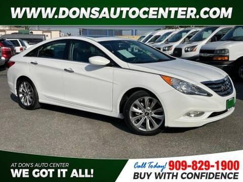 2013 Hyundai Sonata for sale at Dons Auto Center in Fontana CA