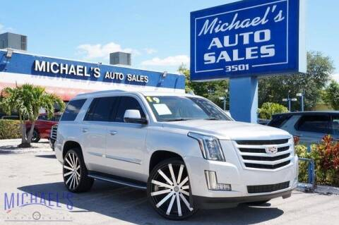 2019 Cadillac Escalade for sale at Michael's Auto Sales Corp in Hollywood FL