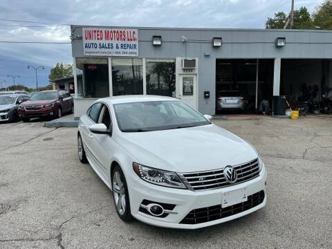 2013 Volkswagen CC for sale at United Motors LLC in Saint Francis WI
