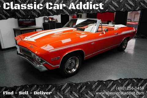 1968 Chevrolet Chevelle for sale at Classic Car Addict in Mesa AZ