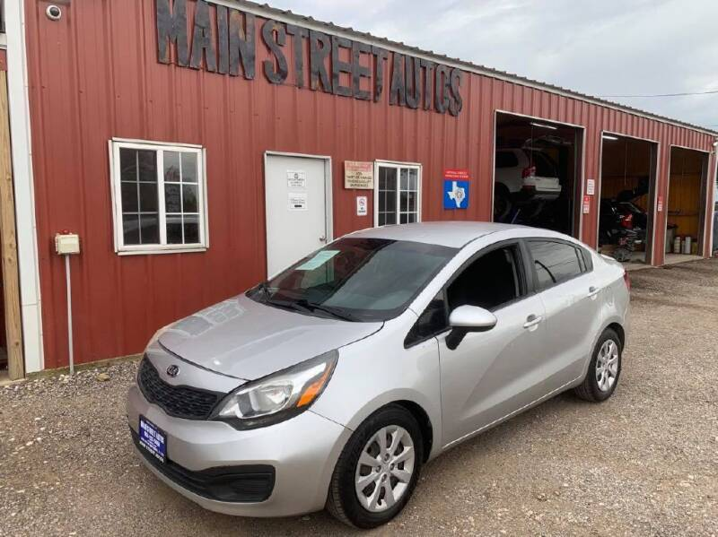 2013 Kia Rio for sale at Main Street Autos Sales and Service LLC in Whitehouse TX