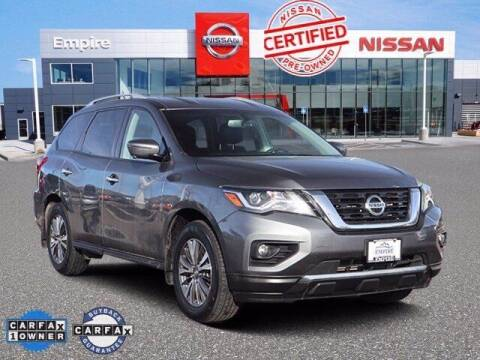 2018 Nissan Pathfinder for sale at EMPIRE LAKEWOOD NISSAN in Lakewood CO