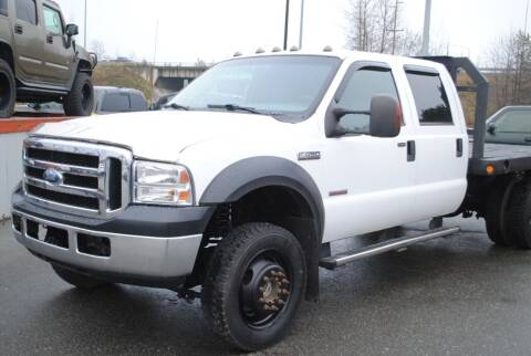 2007 Ford F-450 Super Duty for sale at Frontier Auto & RV Sales in Anchorage AK