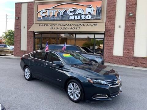 2018 Chevrolet Impala for sale at CITY CAR AUTO INC in Nashville TN