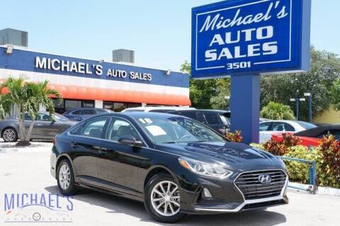 2018 Hyundai Sonata for sale at Michael's Auto Sales Corp in Hollywood FL