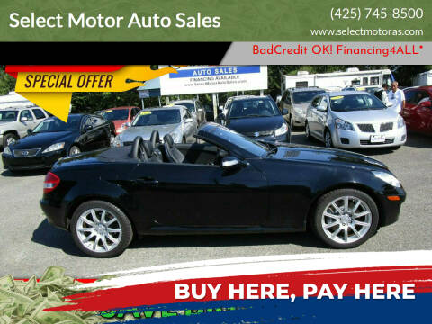 2006 Mercedes-Benz SLK for sale at Select Motor Auto Sales in Lynnwood WA