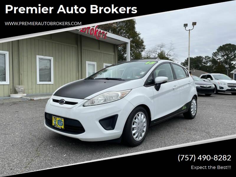 2013 Ford Fiesta for sale at Premier Auto Brokers in Virginia Beach VA