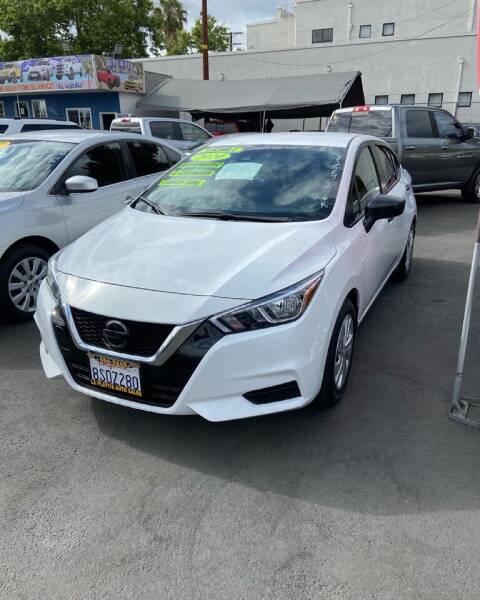 2020 Nissan Versa for sale at 2955 FIRESTONE BLVD - 3271 E. Firestone Blvd Lot in South Gate CA