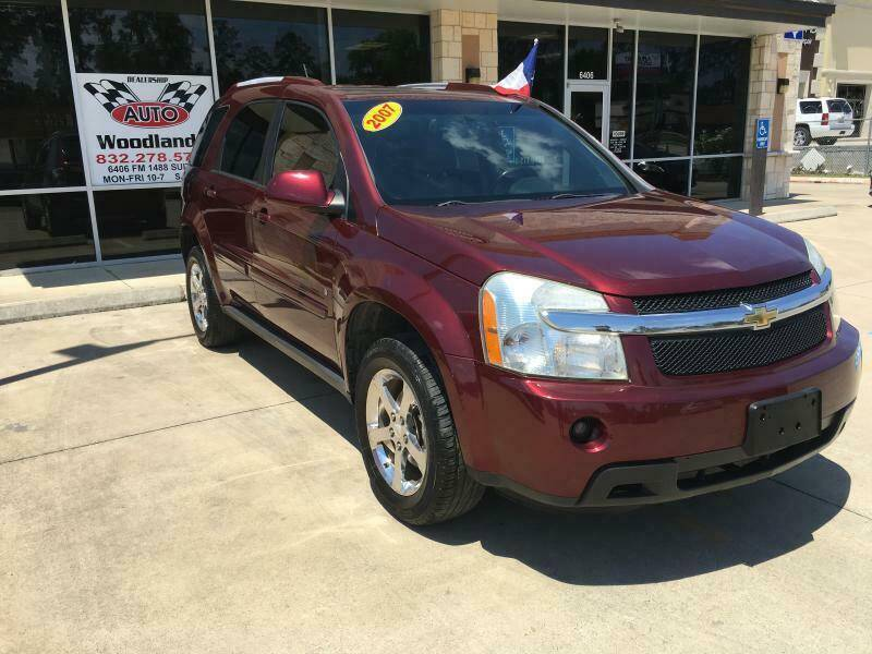 2007 Chevrolet Equinox for sale at AUTO WOODLANDS in Magnolia TX