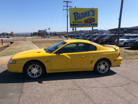 1998 Ford Mustang for sale at Blake's Auto Sales in Rice Lake WI
