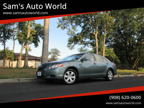 2007 Toyota Camry for sale at Sam's Auto World in Roselle NJ