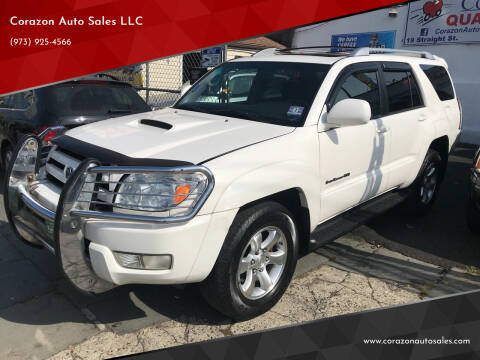2005 Toyota 4Runner for sale at Corazon Auto Sales LLC in Paterson NJ