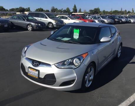 2014 Hyundai Veloster for sale at My Three Sons Auto Sales in Sacramento CA