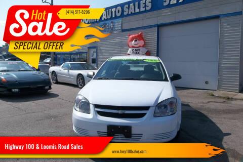 2008 Chevrolet Cobalt for sale at Highway 100 & Loomis Road Sales in Franklin WI
