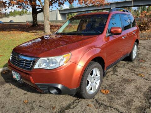 2010 Subaru Forester for sale at EXECUTIVE AUTOSPORT in Portland OR