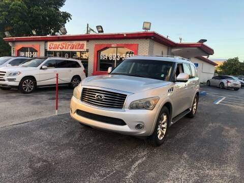 2011 Infiniti QX56 for sale at CARSTRADA in Hollywood FL