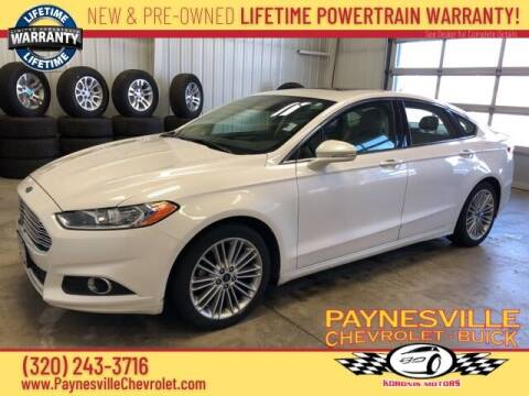 2014 Ford Fusion for sale at Paynesville Chevrolet - Buick in Paynesville MN
