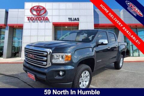 2017 GMC Canyon for sale at TEJAS TOYOTA in Humble TX