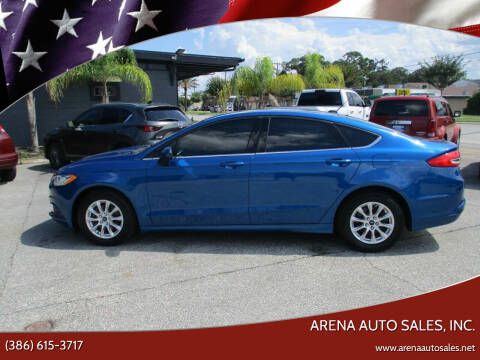 2017 Ford Fusion for sale at ARENA AUTO SALES,  INC. in Holly Hill FL