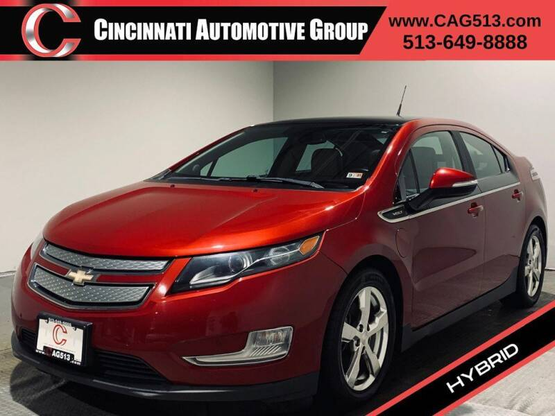 2012 Chevrolet Volt for sale at Cincinnati Automotive Group in Lebanon OH