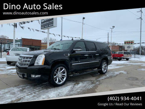 2008 Cadillac Escalade ESV for sale at Dino Auto Sales in Omaha NE