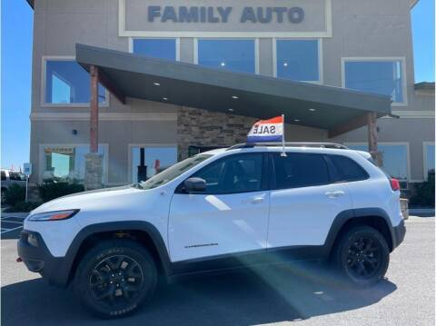 2016 Jeep Cherokee for sale at Moses Lake Family Auto Center in Moses Lake WA