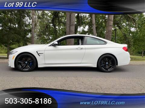 2015 BMW M4 for sale at LOT 99 LLC in Milwaukie OR