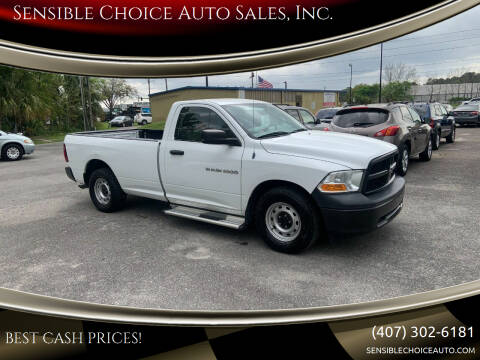 2012 RAM Ram Pickup 1500 for sale at Sensible Choice Auto Sales, Inc. in Longwood FL