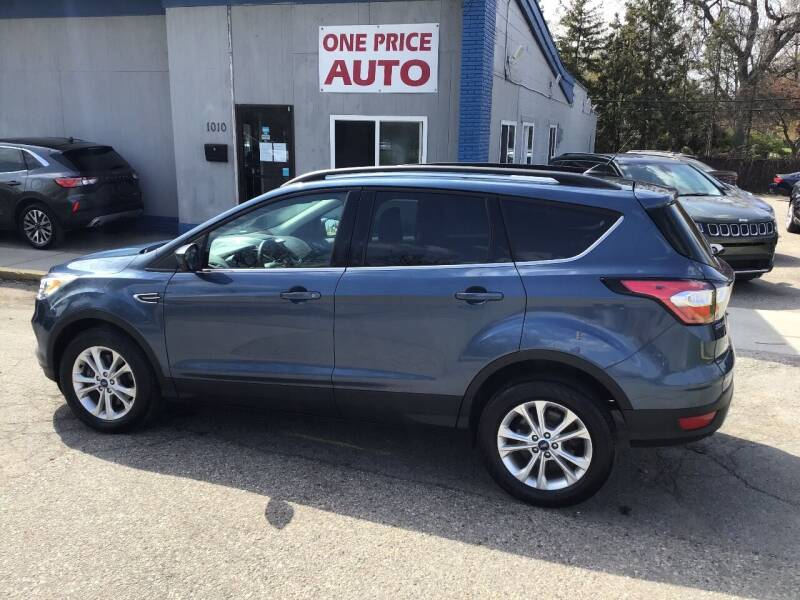 2018 Ford Escape for sale at One Price Auto in Mount Clemens MI