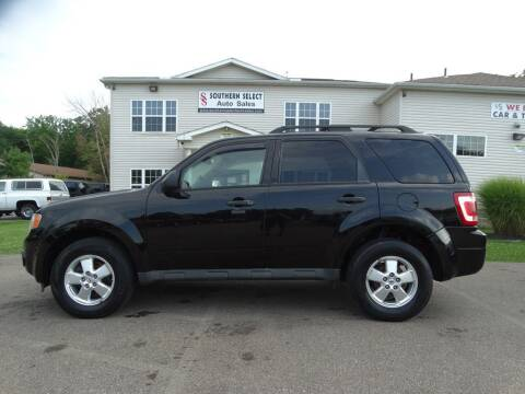 2012 Ford Escape for sale at SOUTHERN SELECT AUTO SALES in Medina OH