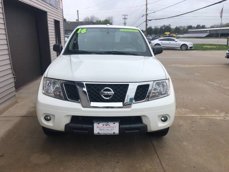 2016 Nissan Frontier for sale at Auto Import Specialist LLC in South Bend IN