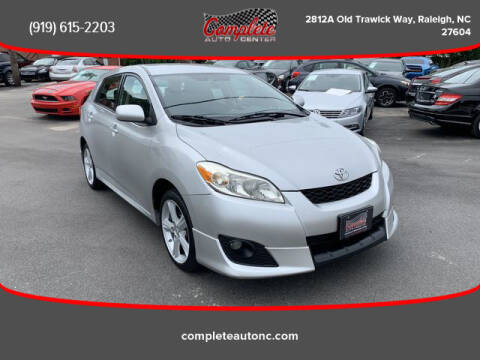 2009 Toyota Matrix for sale at Complete Auto Center , Inc in Raleigh NC