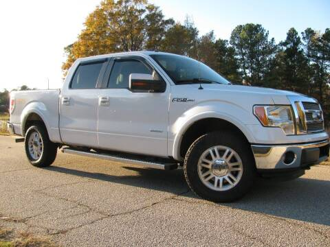 2012 Ford F-150 for sale at Warner's Auto Sales in Greenwood SC