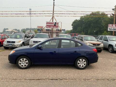 2008 Hyundai Elantra for sale at Affordable 4 All Auto Sales in Elk River MN
