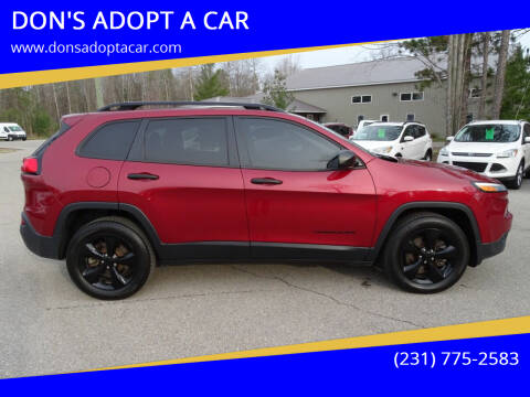 2016 Jeep Cherokee for sale at DON'S ADOPT A CAR in Cadillac MI