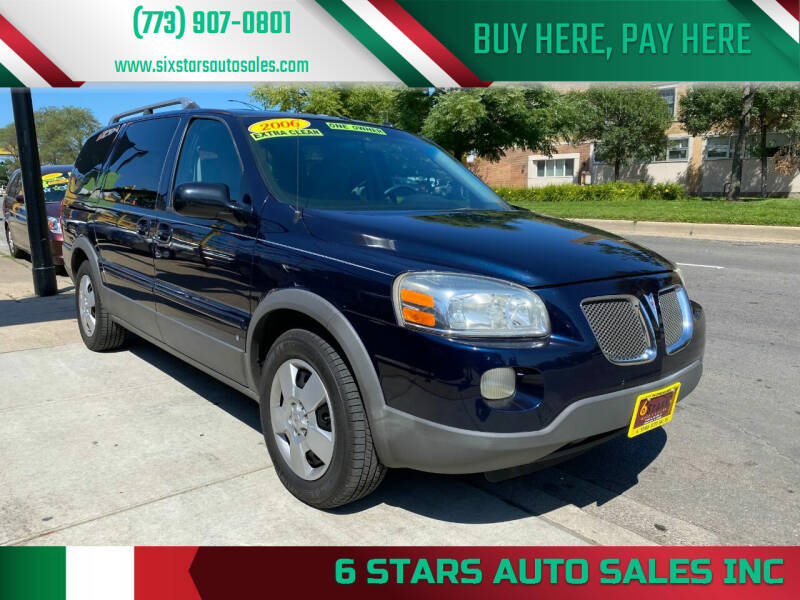 2006 Pontiac Montana SV6 for sale in Chicago, IL
