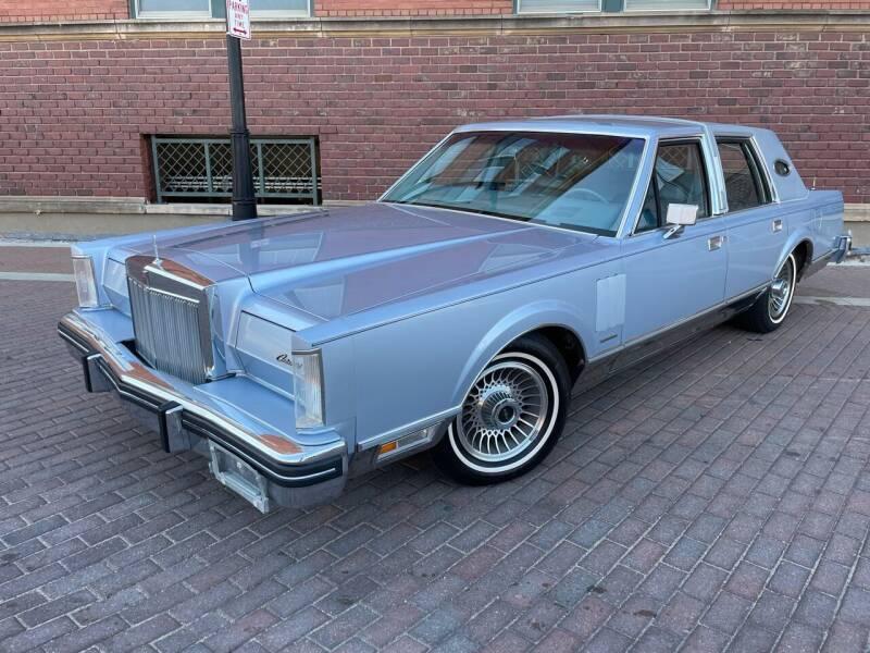 1983 Lincoln Mark VI for sale at Euroasian Auto Inc in Wichita KS