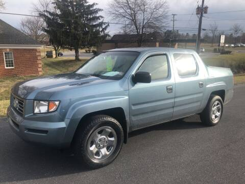 2006 Honda Ridgeline for sale at Augusta Auto Sales in Waynesboro VA
