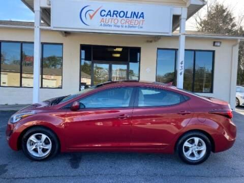 2014 Hyundai Elantra for sale at Carolina Auto Credit in Youngsville NC