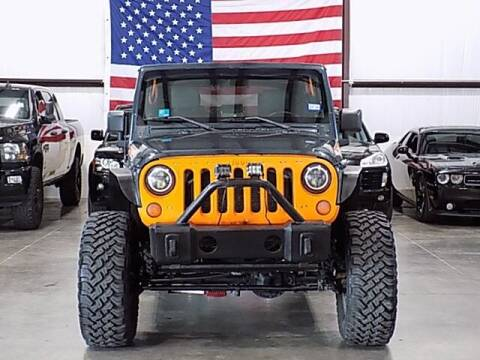 2007 Jeep Wrangler Unlimited for sale at Texas Motor Sport in Houston TX