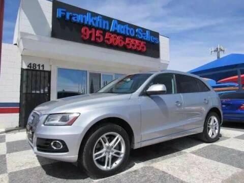 2015 Audi Q5 for sale at Franklin Auto Sales in El Paso TX