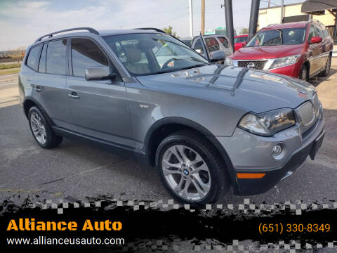 2007 BMW X3 for sale at Alliance Auto in Newport MN